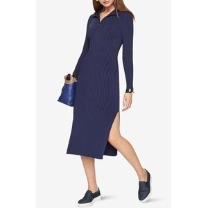 Bcbgmaxazria Sonja Ribbed Sweater Dress
